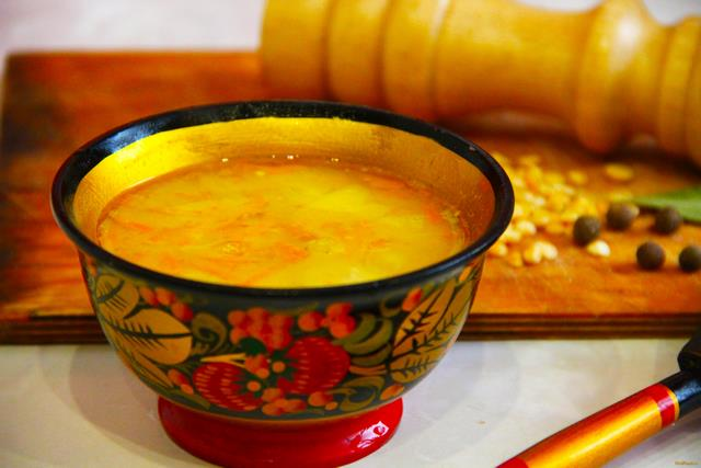 Рецепт Гороховый суп со свининой в мультиварке рецепт с фото