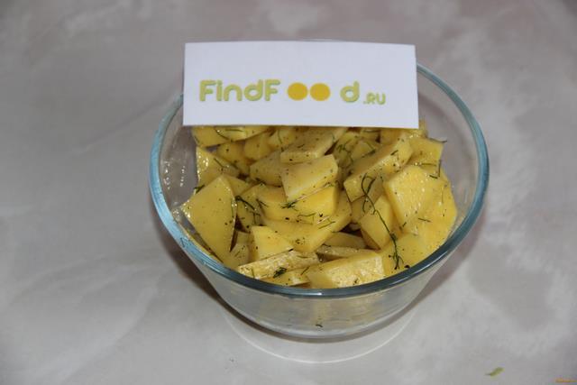 Куриные голени с картофелем в мультиварке рецепт с фото 6-го шага