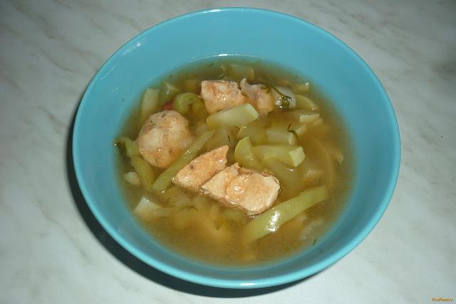 Рецепт Суп из красной фасоли с кабачком в мультиварке рецепт с фото