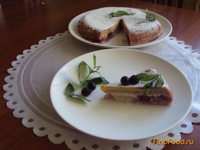 Рецепт Кукурузный пирог с вишнями в мультиварке рецепт с фото