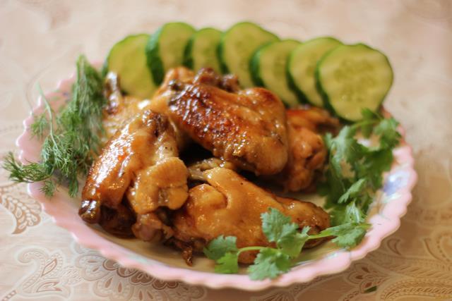 Рецепт Куриные крылышки с медом и лимоном в мультиварке рецепт с фото