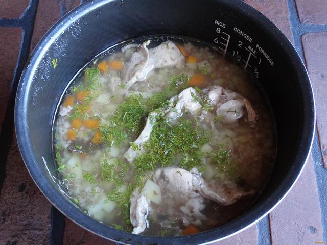Суп из кролика в мультиварке рецепт с фото