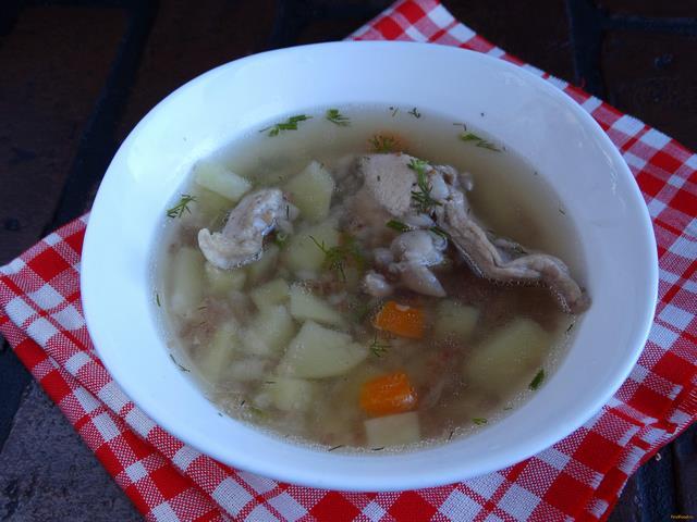 Рецепт Суп из кролика в мультиварке рецепт с фото