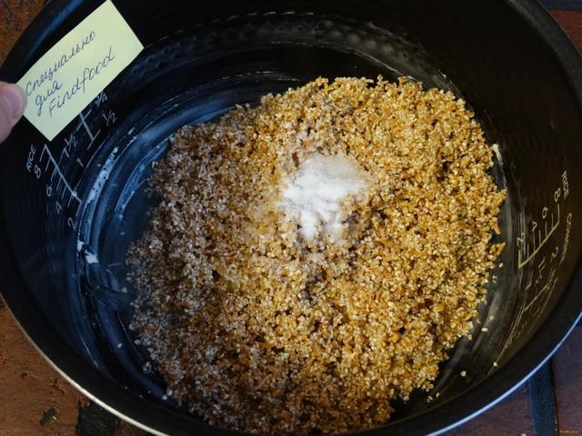 Пшеничная каша рецепт с фото в мультиварке