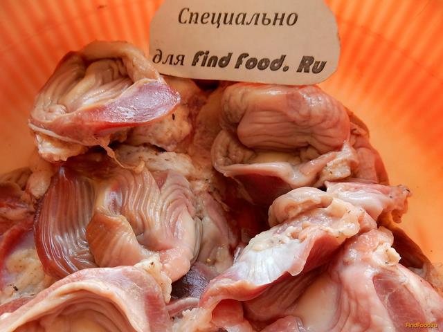 рецепты приготовления желудков куриных в мультиварке
