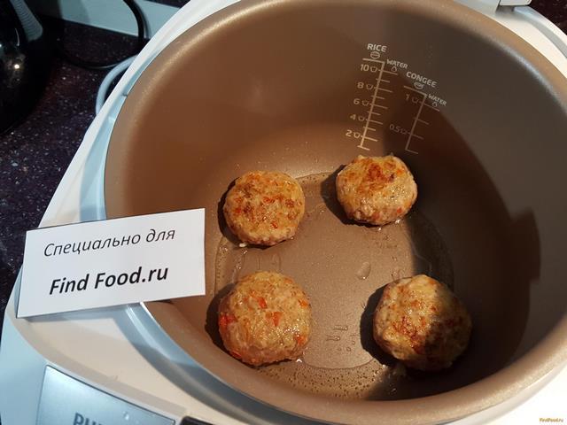 Рецепт ежиков с фото в мультиварке