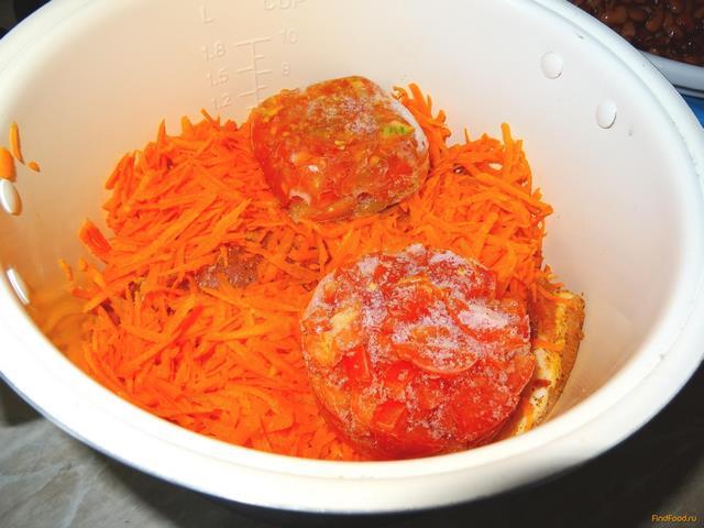 Рецепт свинина с красной фасолью в мультиварке