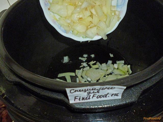 Рис с куриной печенью в мультиварке рецепт с фото 6-го шага