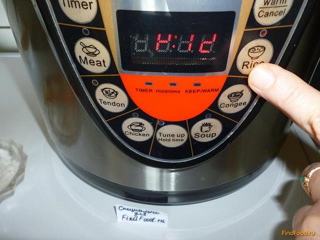 Рис с куриной печенью в мультиварке рецепт с фото 17-го шага