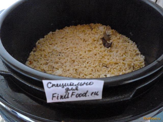 Рис с куриной печенью в мультиварке рецепт с фото 18-го шага