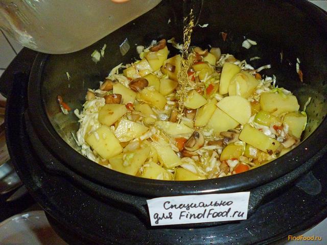 Овощное рагу с кабачками в мультиварке рецепт пошагово повар ру