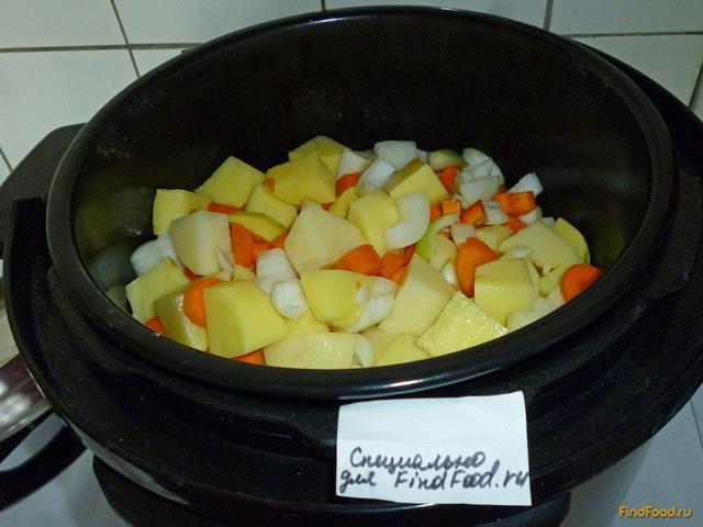 Картофель с баклажанами в мультиварке рецепты