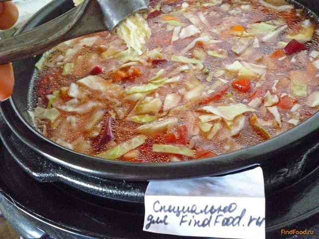 рецепт борща с фото пошагово без капусты