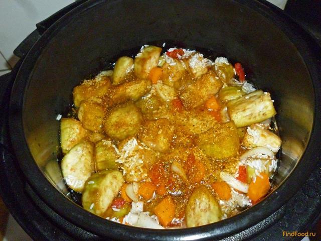 Рис с баклажанами в мультиварке рецепты