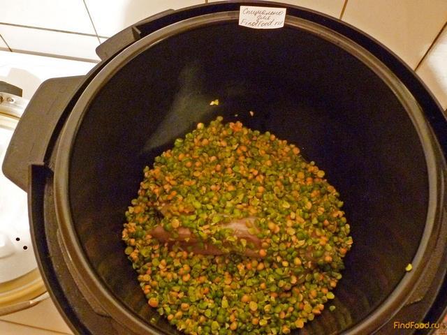 Рецепт куриного горохового супа с фото