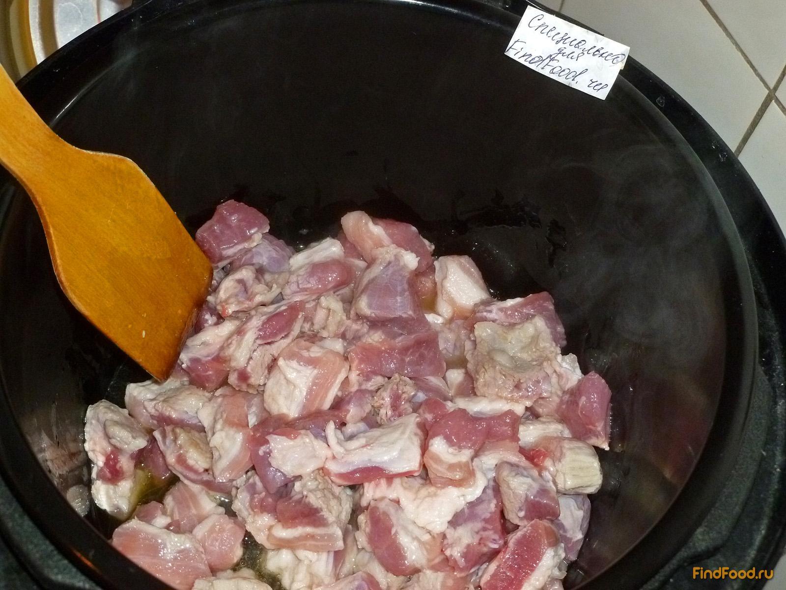 Перловка в мультиварке со свининой рецепт пошаговый