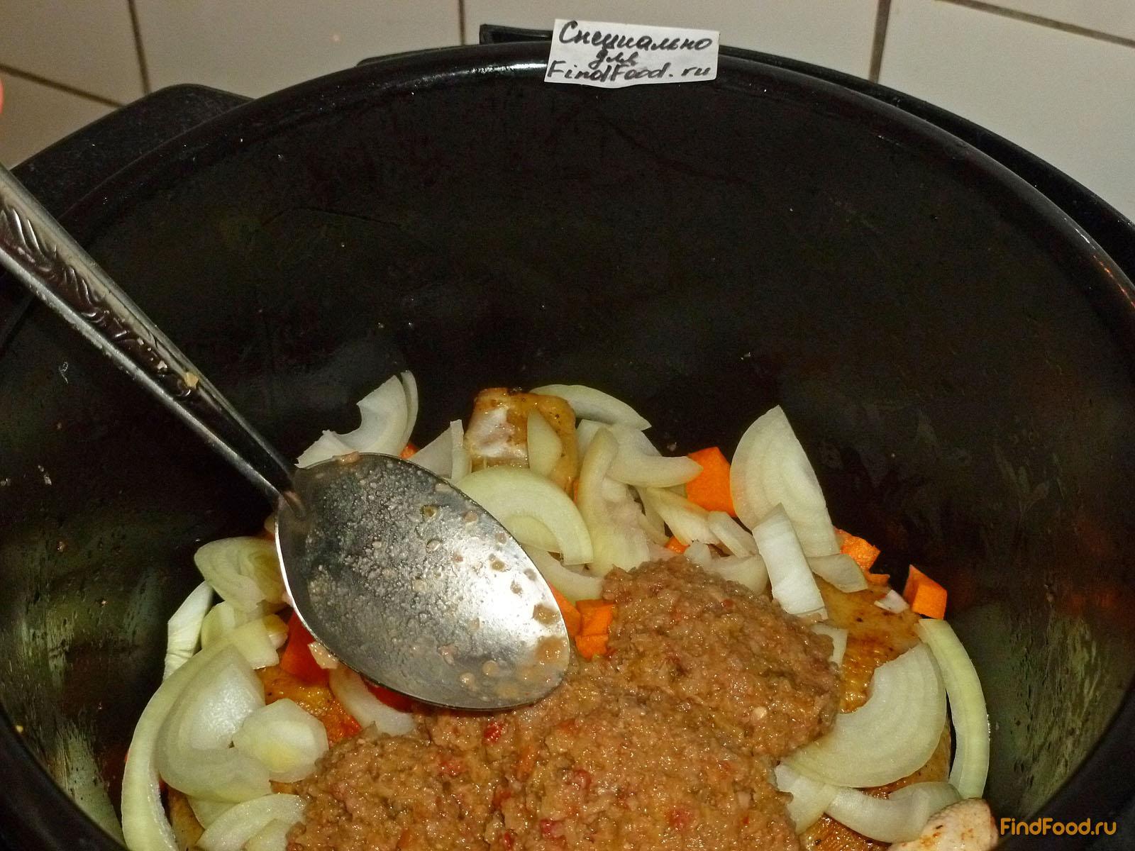 рецепт желудков куриных в мультиварке с соусом