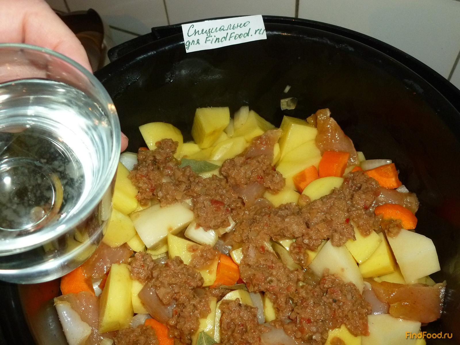 Мясо в мультиварке поларис пошаговый рецепт