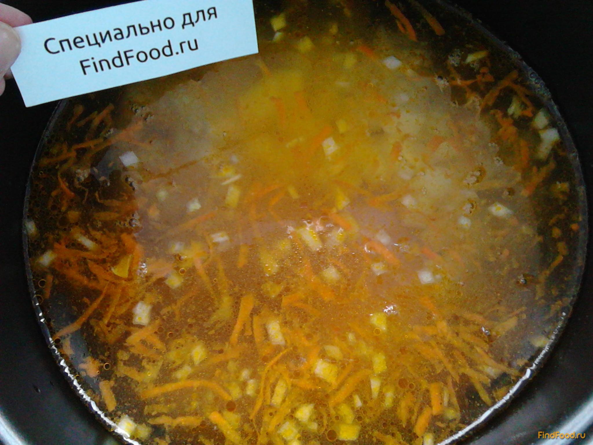 Суп куриный в мультиварке пошагово