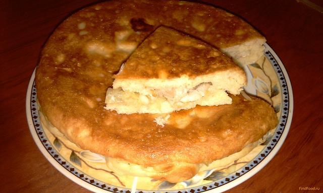 Рыбный пирог из минтая рецепт с фото 17-го шага