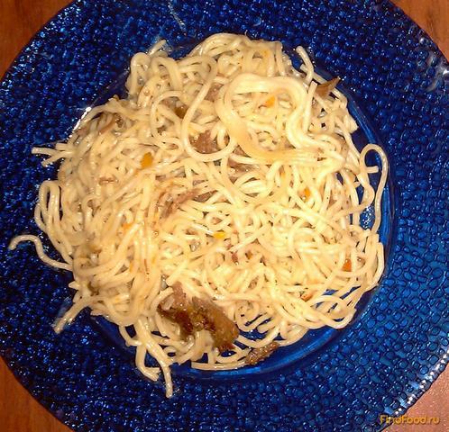 Вкусные макароны с тушенкой рецепт