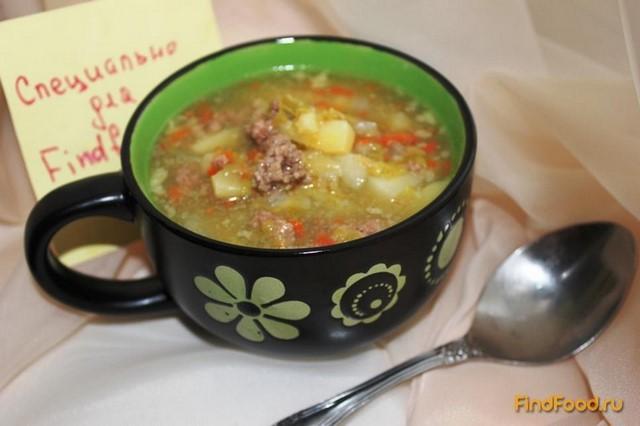 суп с говяжьим фаршем рецепт с фото