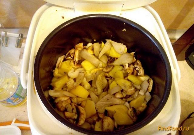 картофель в сметане в мультиварке рецепт с фото
