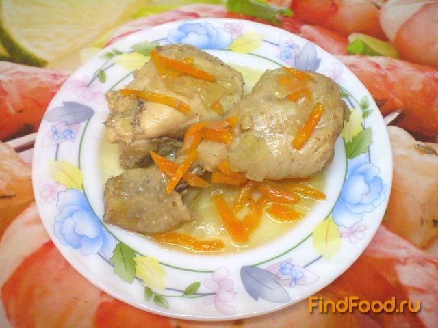 тушеная курица с подливкой рецепт с фото