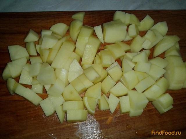 Рагу из свинины с горошком рецепт с фото 7-го шага