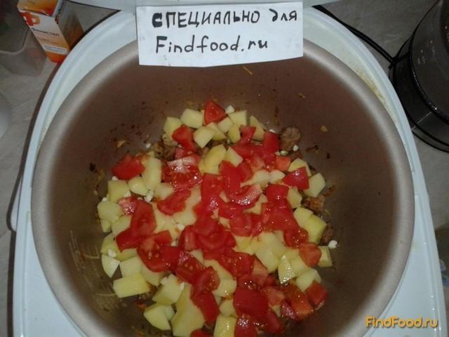Рагу из свинины с горошком рецепт с фото 11-го шага