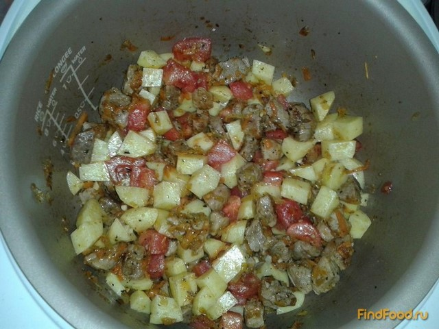 Рагу из свинины с горошком рецепт с фото 12-го шага