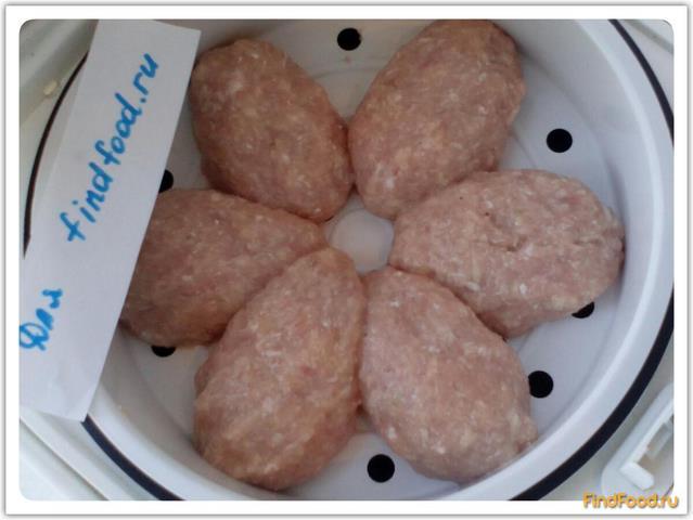 Картошка с паровыми котлетами рецепт с фото 5-го шага