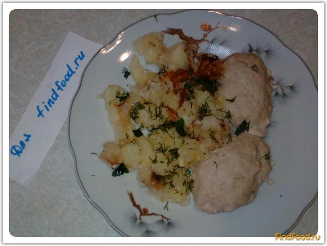 Картошка с паровыми котлетами рецепт с фото 7-го шага