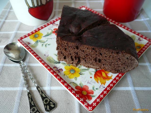 Рецепт Простой шоколадный кекс в мультиварке рецепт с фото