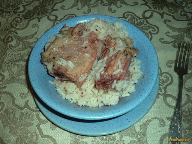 Рецепт Свинина по-домашнему с рисом и курагой рецепт с фото