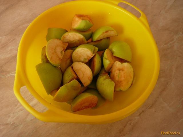 Яблочное варенье в мультиварке рецепт с фото 2-го шага