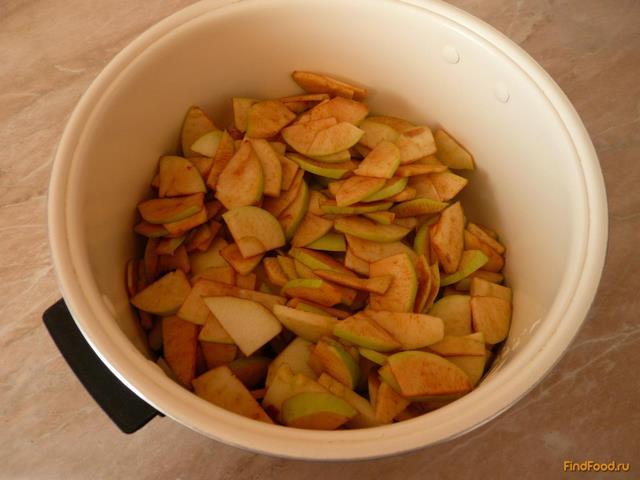 Яблочное варенье в мультиварке рецепт с фото 4-го шага