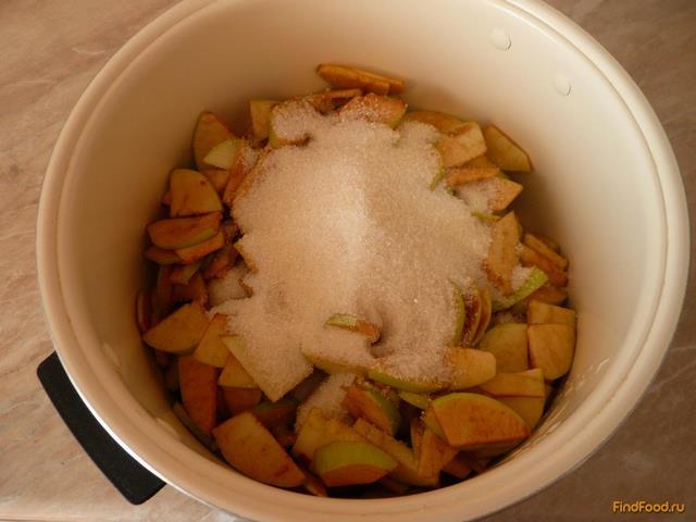 Яблочное варенье в мультиварке рецепт с фото 5-го шага