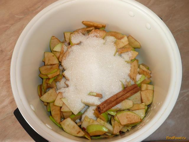 Яблочное варенье в мультиварке рецепт с фото 6-го шага