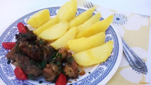 Рецепт Картофель в кукурузной шубке в мультиварке рецепт с фото