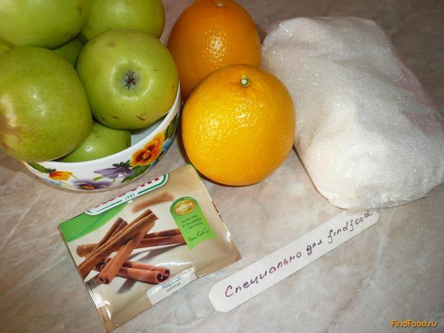 Варенье яблочное с корицей и апельсином