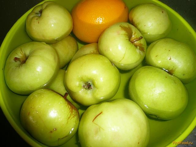 Варенье яблоки с апельсином рецепт