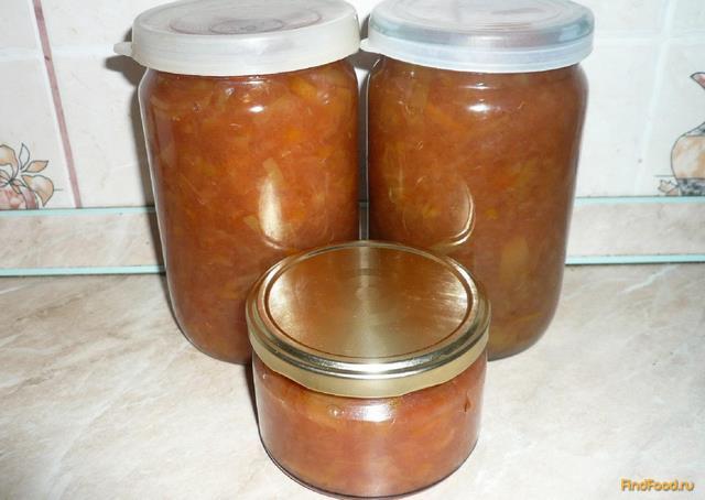 Рецепт Яблочное варенье с апельсином и корицей рецепт с фото