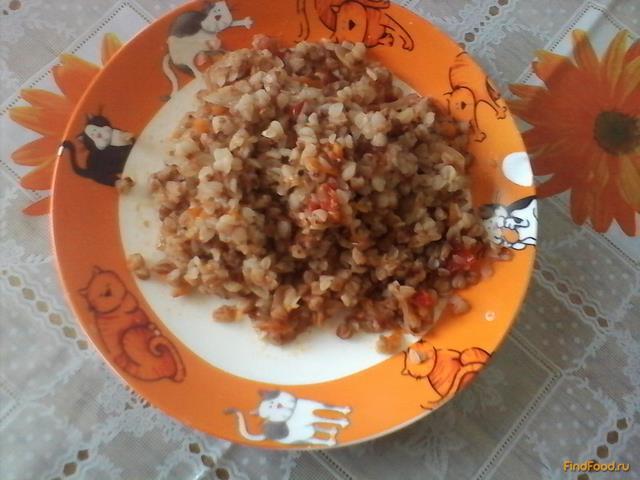 Рецепт Гречневая каша с овощами в мульварке рецепт с фото