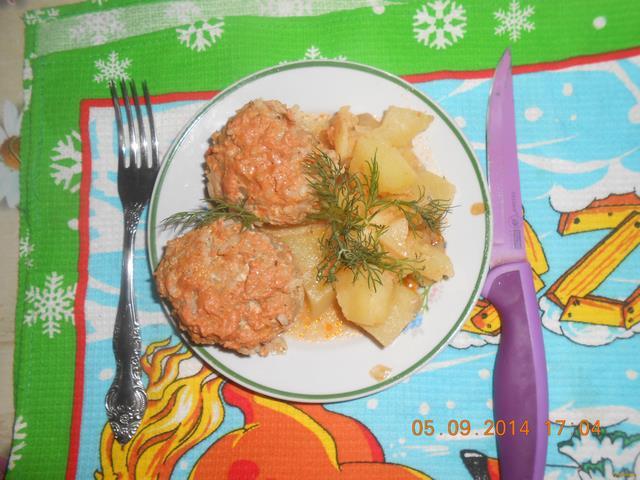 Рецепт Ленивые голубцы с картофелем рецепт с фото