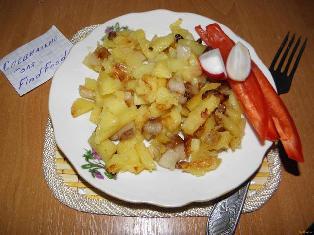 Рецепт Жаренный картофель в мультиварке рецепт с фото