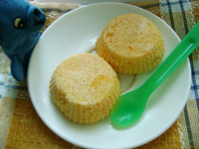 Рецепт Творожно-тыквенное суфле для ребенка рецепт с фото