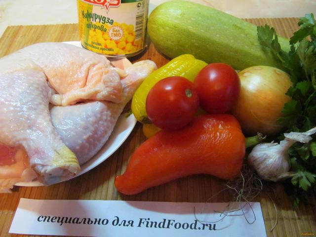 Окорочка с овощами в мультиварке рецепт с фото пошагово