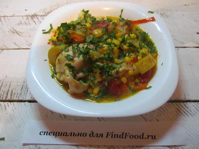 Куриные окорочка с овощами в мультиварке рецепты с фото