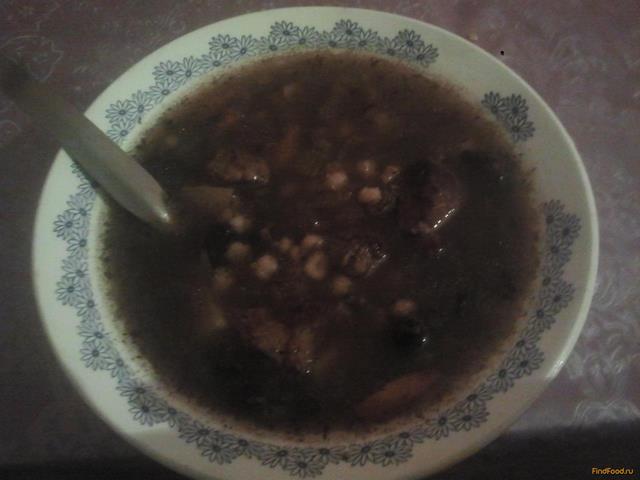 Рецепт Грибной суп с перловкой в мультиварке рецепт с фото